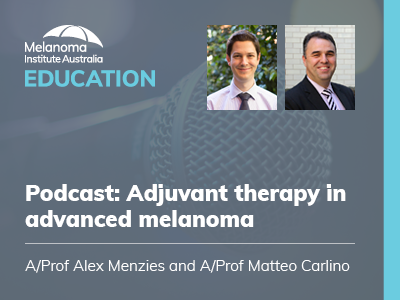 Adjuvant therapy in advanced melanoma | 28 min