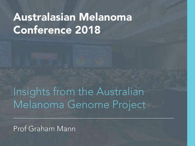 Insights from the Australian Melanoma Genome Project | 27 min