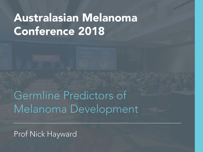 Germline Predictors of Melanoma Development | 30 min