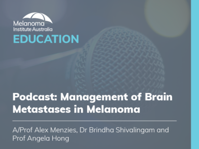 Management of Brain Metastases in Melanoma | 39 min
