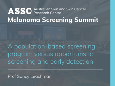 A population-based screening program versus opportunistic screening and early detection | 18 min