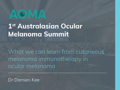 What we can learn from cutaneous melanoma immunotherapy in ocular melanoma | 22 min
