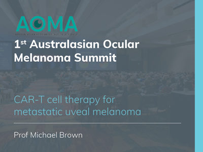 CAR-T cell therapy for metastatic uveal melanoma | 14 min