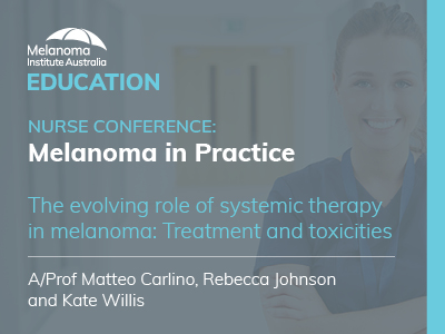 The evolving role of systemic therapy in melanoma | ACN Accredited | 61 min