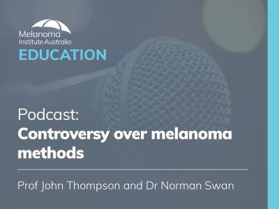 Controversy over melanoma methods | 8 mins