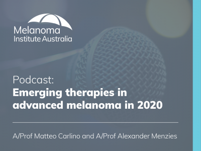 Emerging therapies in advanced melanoma in 2020 | 55 min