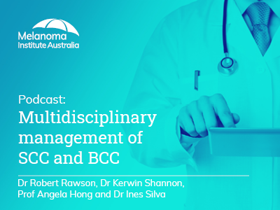 Multidisciplinary management of SCC and BCC   46 min