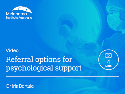 Referral options for psychological support | 4 min